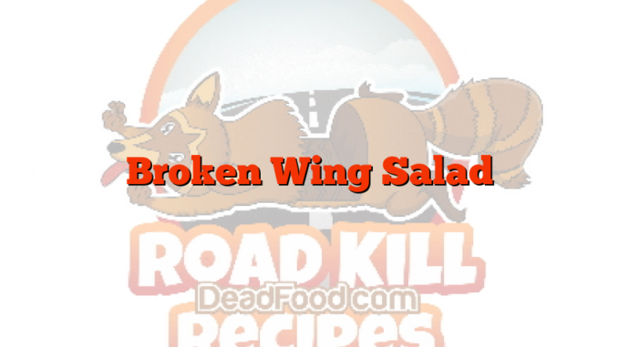 Broken Wing Salad