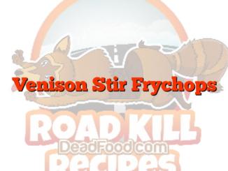 Venison Stir Frychops