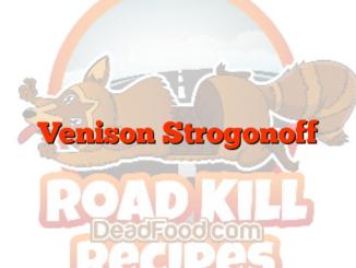 Venison Strogonoff