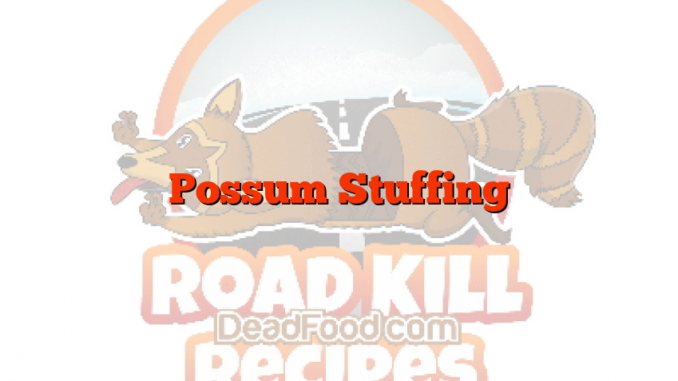 Possum Stuffing